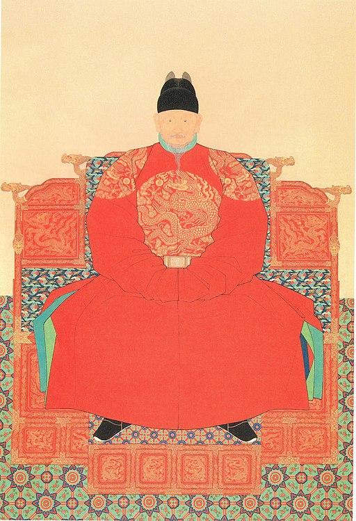 Portrait of King Taejo of Joseon