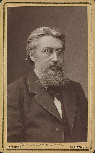Johan Peter Weisse - Johan Peter Weisse in 1881.