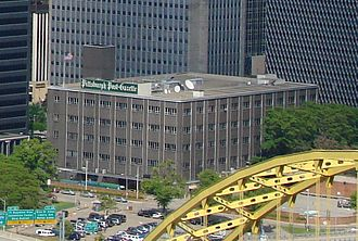 Pittsburgh Post-Gazette - The Pittsburgh Post-Gazette Building in Downtown Pittsburgh, which housed the paper from 1962 to 2015.