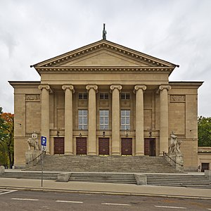 Max Littmann - Opera house in Poznań 1909-1910
