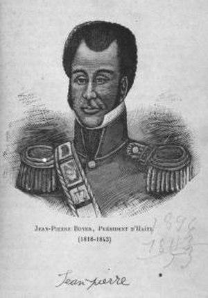 President for Life - Image: Président Jean Pierre Boyer