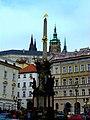 Prag - Pestsäule der Heiligen Dreifaltigkeit - Morový sloup Nejsvětější Trojice - panoramio.jpg