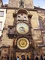 Prag Rathaus Astronomische Uhr 3.JPG