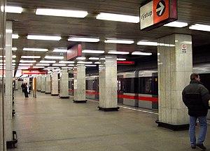 Kačerov (Prague Metro) - Kačerov metro station