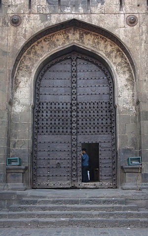 Shaniwar Wada - Shaniwar Wada palace's Delhi Gate or Dilli Darwaza.
