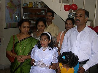 Efficacy of prayer - A family at prayer
