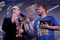 Premia Runeta 2012 - Vladimir Medeyko and Nikolay Turubar 3.jpg