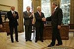 President George W. Bush Welcomes Apollo 11 Astronauts.jpg