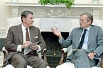 President Ronald Reagan Meeting with Nicholas Brady in The Oval Office.jpg