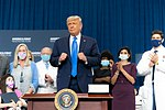 President Trump Delivers Remarks on the America First Healthcare Plan (50382649502).jpg
