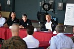 President meets leaders of storm-ravaged North Carolina at MCAS Cherry Point 180919-Z-DZ751-432 (44838227025).jpg