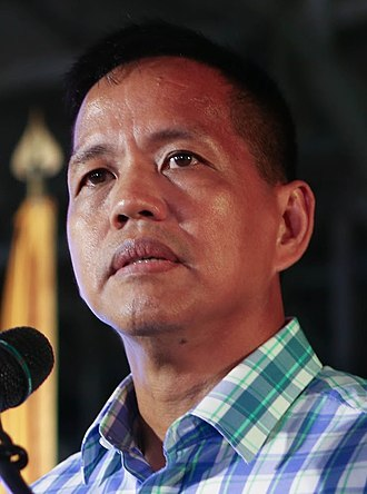 Secretary of Social Welfare and Development (Philippines) - Image: Presidential Security Group Chief Colonel Rolando Bautista (cropped)