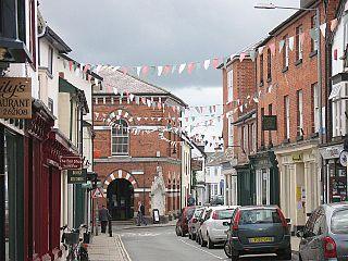 Presteigne village and community in Powys, Wales