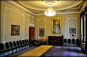 Royal College of Physicians and Surgeons of Glasgow - Princess Alexandra's Room, The Royal College of Physicians and Surgeons of Glasgow, Scotland