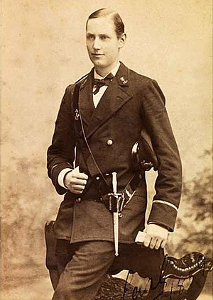 Haakon VII of Norway - Prince Carl of Denmark in 1889.