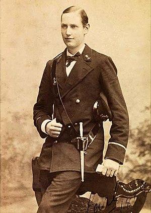 Haakon VII of Norway - Prince Carl of Denmark in 1889.