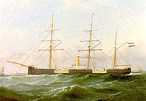 HNLMS Prins Hendrik der Nederlanden - Image: Prins Hendrik der Nederlanden (1866)
