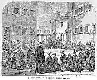 Prison in London, UK