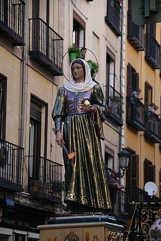 Maria Torribia - Procesión Madrid Santa María de la Cabeza--2011.
