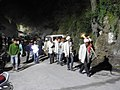 Procession of devotees carrying Goddess to Chamunda temple known as sister to Chamunda Devi 04.jpg