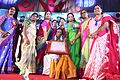 Prof. Vidyavati receiving Eminent Women award from Telangana Government.jpg