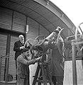 Professor Luigo Carmera in het Observatorium, Bestanddeelnr 191-1356.jpg