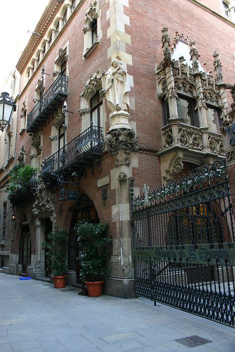 Puig Cadafalch Casa Marti Gats Barcelona
