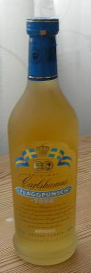 Punsch - A bottle of Swedish punsch