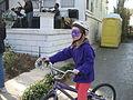 Purple Bike Mask Carnival NOLA.JPG