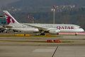 Qatar Airways, A7-BCF, Boeing 787-8 Dreamliner (16270821639).jpg