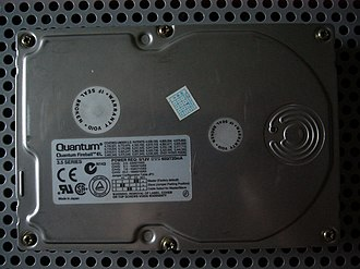 Quantum Fireball - A Quantum Fireball EL 5.1 GB hard drive