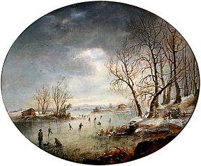 Winter Scene in New Jersey