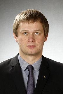 Remo Holsmer Estonian politician