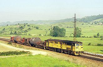 Aceralia - Aceralia torpedo train in El Valle, Asturias