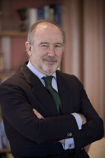 Official portrait of Bankia President Rodrigo ...