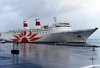 MV Princess of the Orient - Princess of the Orient as Sunflower 11.
