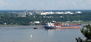 Ultramar - Jean-Gaulin Refinery in Lévis, Quebec