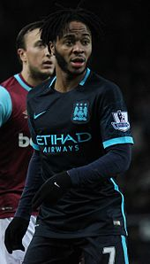 Sterling Playing For Manchester City In