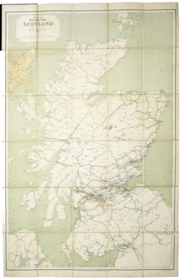 Railway Clearing House map of Scotland, 1920 Railway Clearing House Map of Scotland - 1920.webp