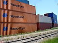Railway Tracks and Containers (3678896952).jpg