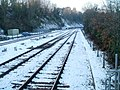 Railway lines NW of Radyr station, Cardiff - geograph.org.uk - 2204867.jpg