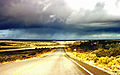 Rain in the desert, Arizona near the Black Mesa.jpg