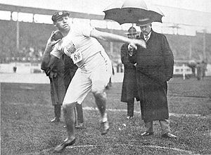 Athletics at the 1908 Summer Olympics – Men's shot put - Image: Ralph Rose