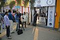 Rangan Datta - Doordarshan Interview - Wikimedia Stall - 38th International Kolkata Book Fair - Milan Mela Complex - Kolkata 2014-02-07 8477.JPG