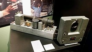 Rapatronic camera - Original Rapatronic Camera on display at the National Atomic Testing Museum in Las Vegas, NV.