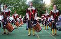 Ravensburg Rutenfest 2005 Fahnenschwingergruppe St Konrad
