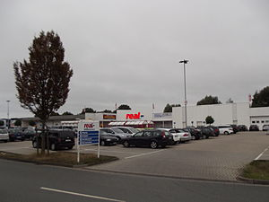 Real (hypermarket) - Real hypermarket in Nordwalde, Germany