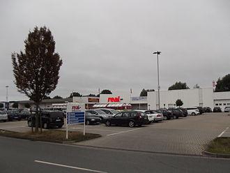 Real (hypermarket) - Real hypermarket in Nordwalde, Germany