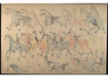 Red Horse pictographic account of the Battle of the Little Bighorn, 1881. 9200.png