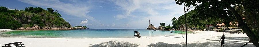 Panorama of the Redang Island Beach